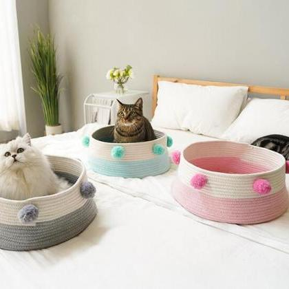 Pets Cat Bed Puppy Shipping Bed Cot..