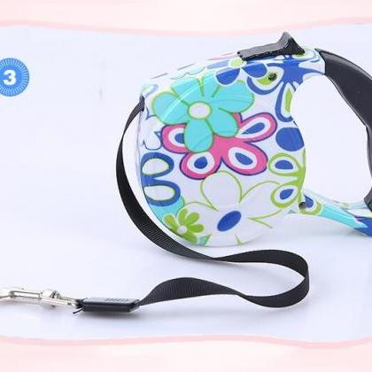 3 Meters Retractable Dog Leash Auto..