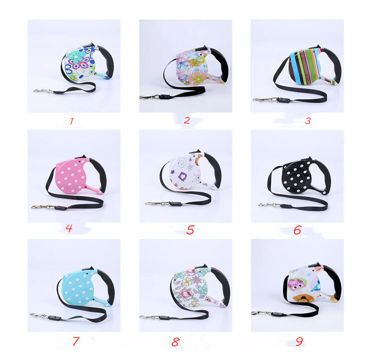 3 Meters Retractable Dog Leash Automatic Flexible Dog Puppy Cat Traction Rope Pet Products